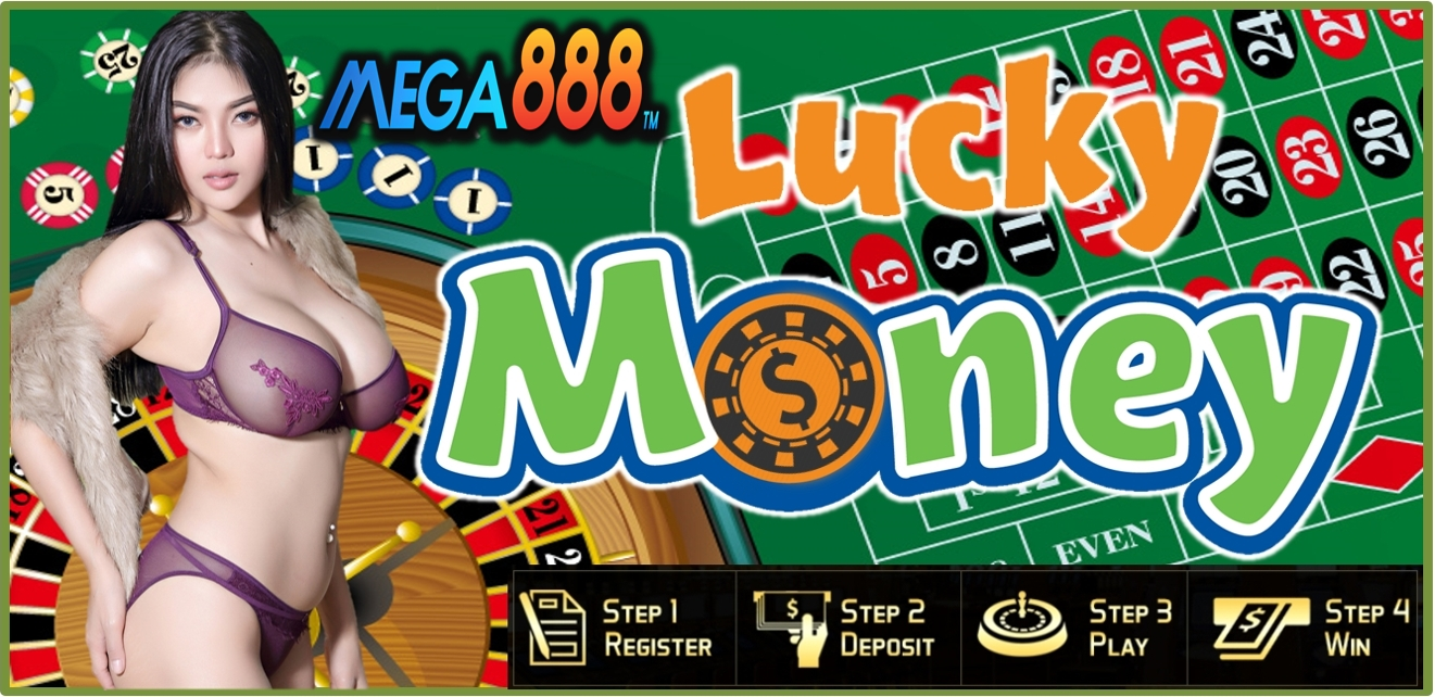 Lucky Money At Mega888 Casino