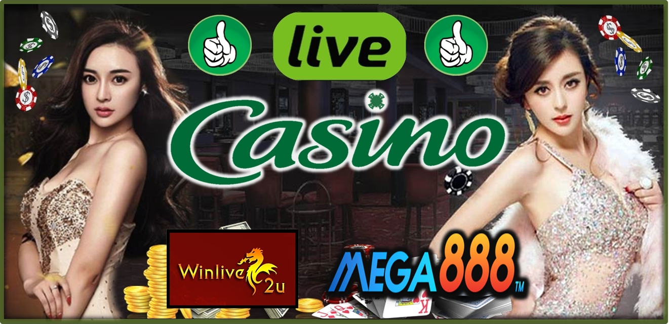 Mega888 Live Casinos